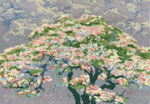 William Giles A Tree In Blossom Cross Stitch Kit
